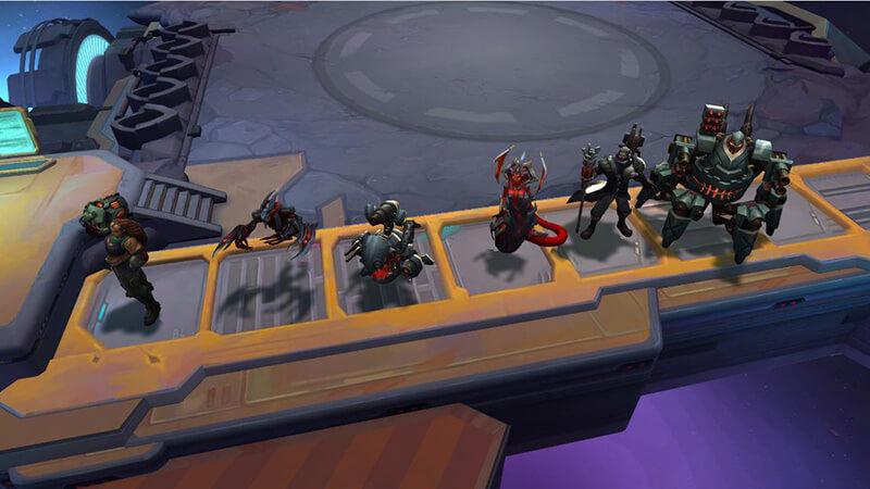 Hệ cỗ máy chiến đấu đtcl (Battlecast)