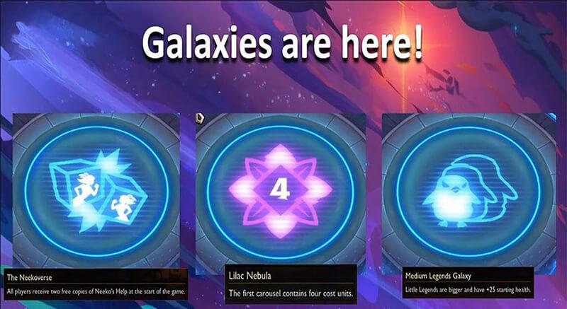 Thay đổi hệ thống thiên hà đtcl