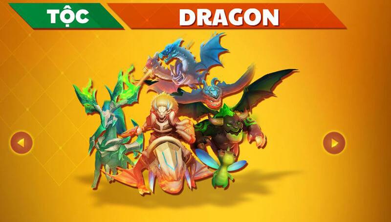 Tộc Rồng (Dragon) Auto chess
