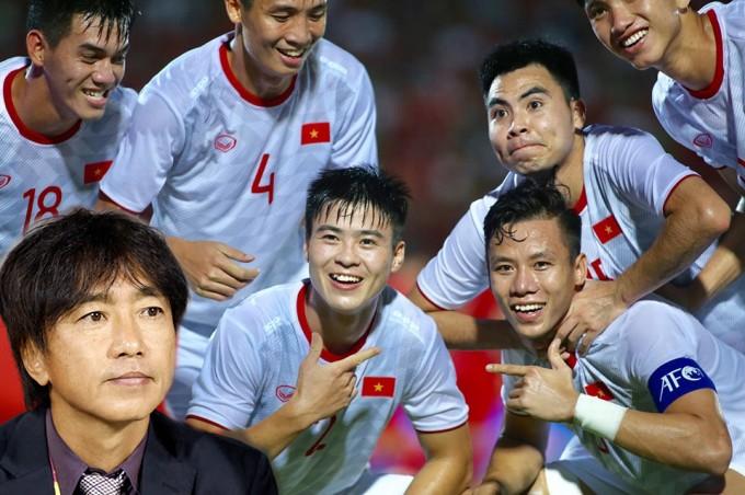 Hình ảnh Đỗ Duy Mạnh tại đội tuyển thời Hlv Toshiya Miura