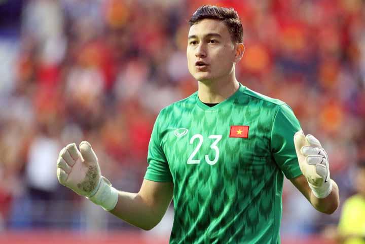Cầu thủ Đặng Văn Lâm