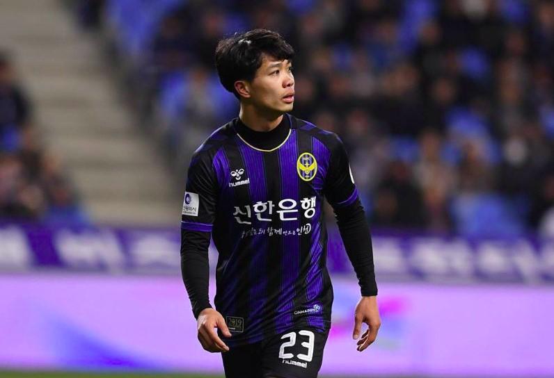 Nguyễn Công Phượng thi đấu tại Hàn Quốc
