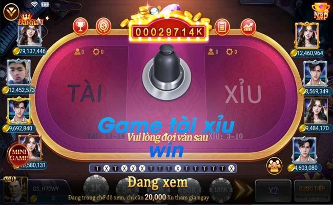 Hướng dẫn chơi game tài xỉu chắc thắng trên cổng game Twin